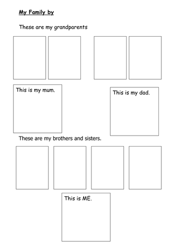 ks1 family tree resource pack by mandem2014 teaching resources tes