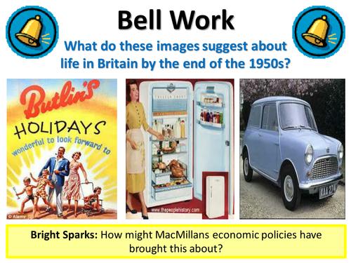 Post War Britain - Living Conditions Under MacMillan