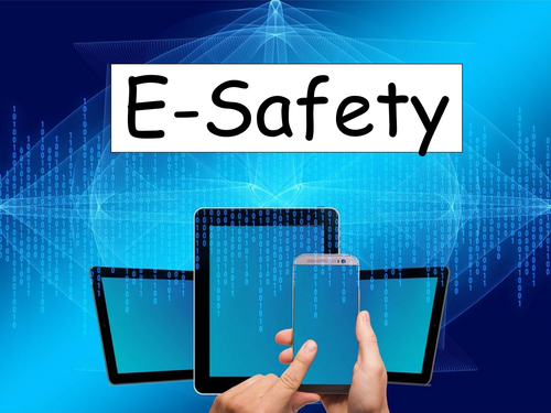 E-Safety presentation - gives pupils information on what E-Safety is and how they can take care