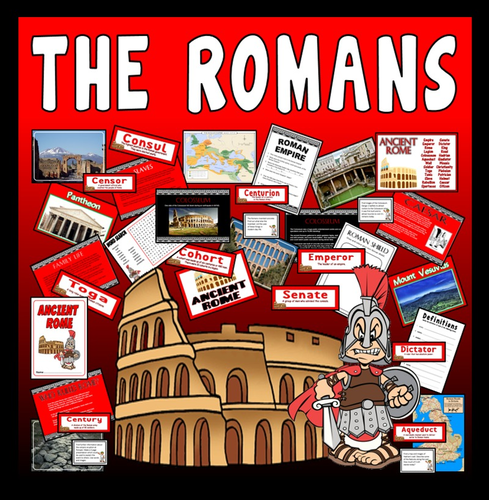 ANCIENT ROMANS TEACHING RESOURCES HISTORY KEY STAGE 2 ROME CAESAR EMPEROR