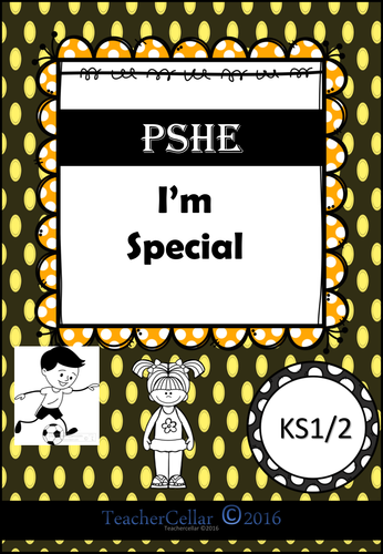 PSHE I'm Special