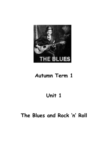 Complete history and performance unit - Blues to Greased Lightning-for band instruments