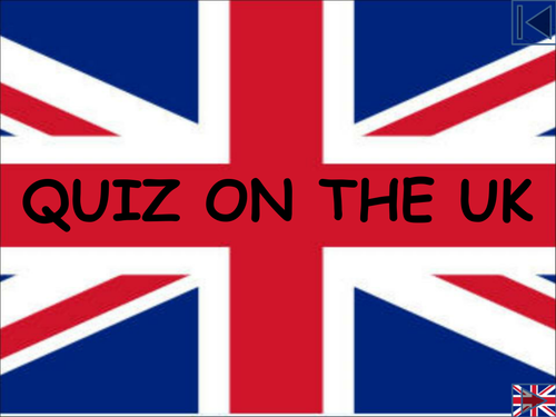 Quiz on the UK -Extra Questions