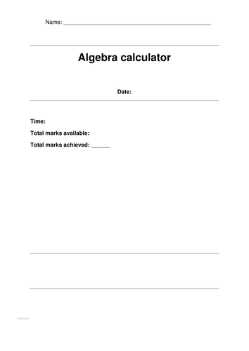 Predicted Algebra Questions for the Calculator EDEXCEL MATHS PAPER JUNE 2016