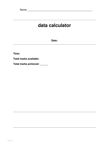 Predicted DATA Questions with ANSWERS for the Calculator EDEXCEL MATHS PAPER JUNE 2016