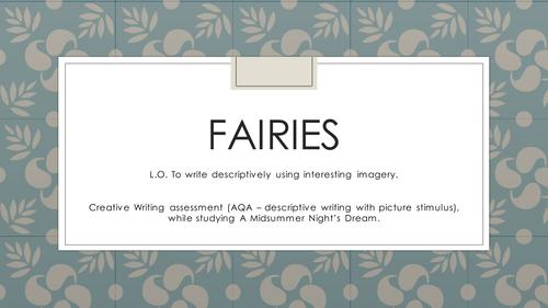 Creative writing tasks