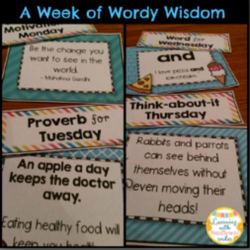 Vocabulary and Text Development