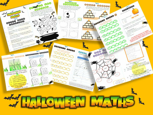 Halloween Maths Booklet With Answers