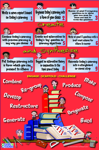 Lesson Activities Poster [extensions] 5 (Creation and Synthesis)