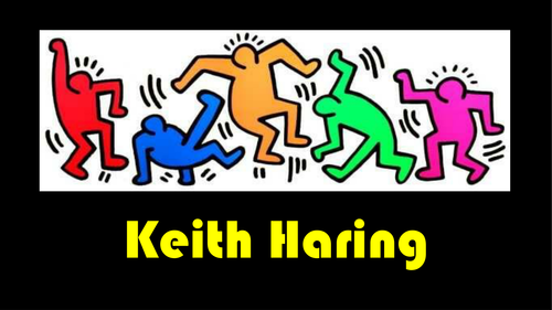 Keith haring powerpoint by mimi1980 teaching resources tes toneelgroepblik Image collections