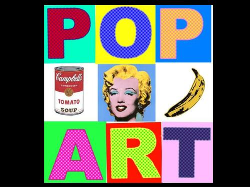 Pop art powerpoint by mimi1980 teaching resources tes toneelgroepblik Choice Image