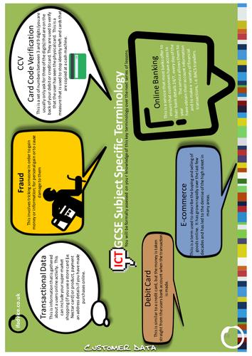 Edexcel GCSE ICT - Customer Data