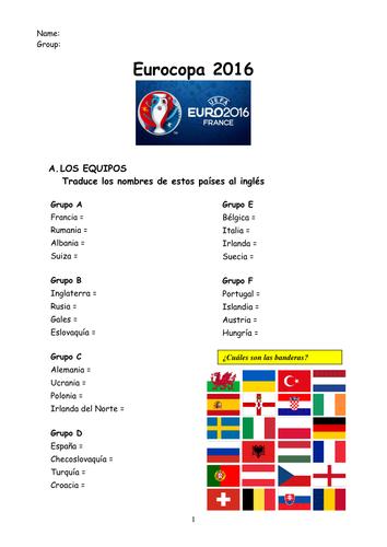 Euro 2016 Spanish
