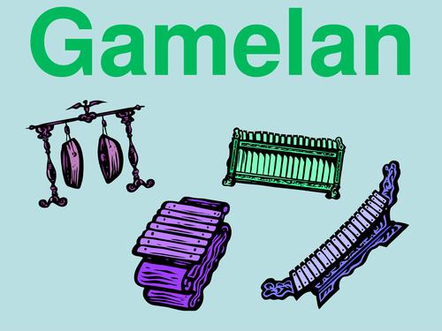 Gamelan Scheme of Work