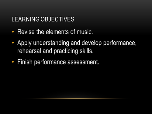 Film Music Scheme of Work