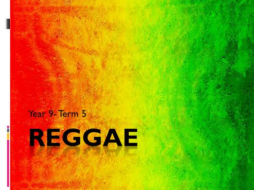 Reggae Scheme of Work