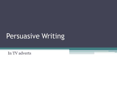 Persuasive Writing - KS2