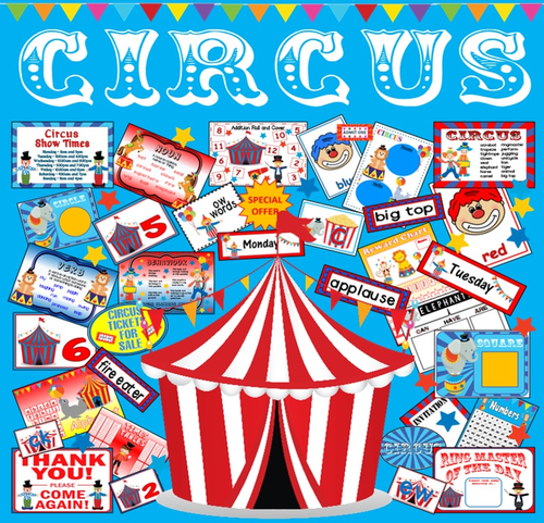 circus directions ks1 maths by moneypenny13 uk teaching resources tes. Black Bedroom Furniture Sets. Home Design Ideas