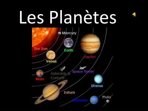 planets in french - photo #11