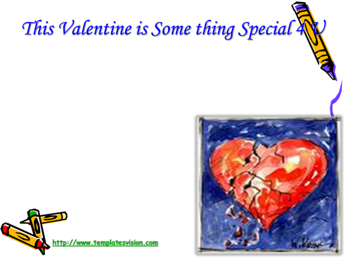 Valentines Day PPT (PowerPoint) Presentation with background music