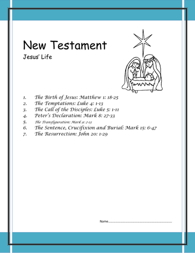 Jesus' life death and resurrection