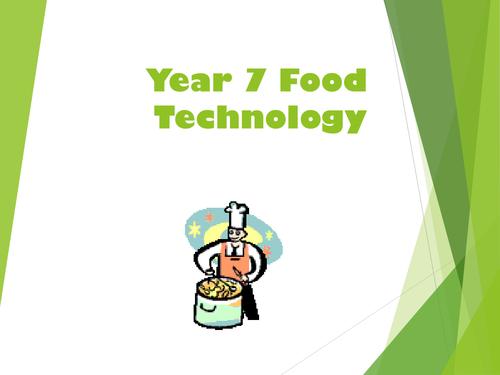 Year 7 Food