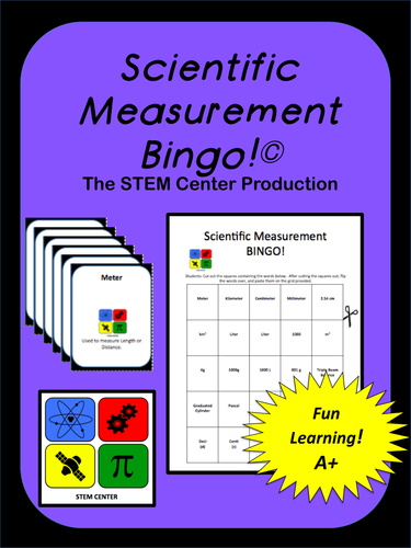 Metric System: BINGO!