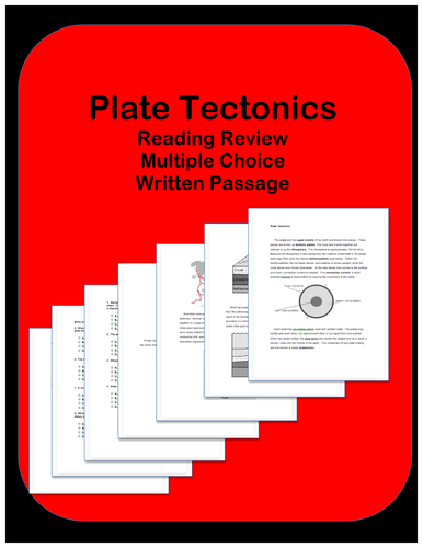 Plate Tectonics: Passage and Questions