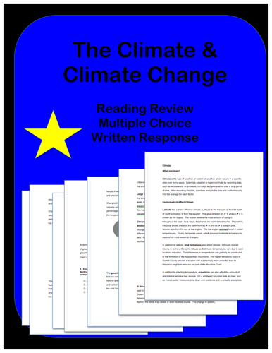 Climate Change: Passage and Questions