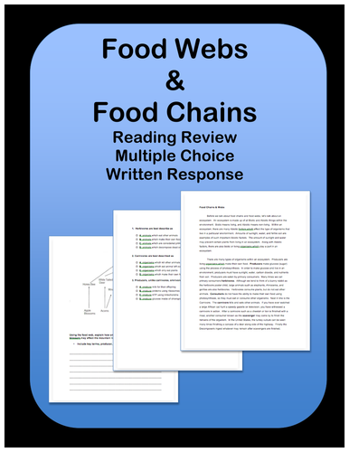 Food Chains: Passage and Questions