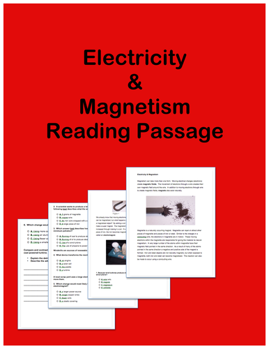 Electricity and Magnetism: Passages and Questions