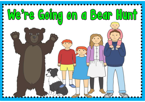 we 39 re going on a bear hunt story teaching resources sack eyfs ks1 reading by hayleyhill. Black Bedroom Furniture Sets. Home Design Ideas