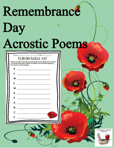 Remembrance day acrostic poems by gregsmith137 teaching resources remembrance day acrostic poems by gregsmith137 teaching resources tes mightylinksfo
