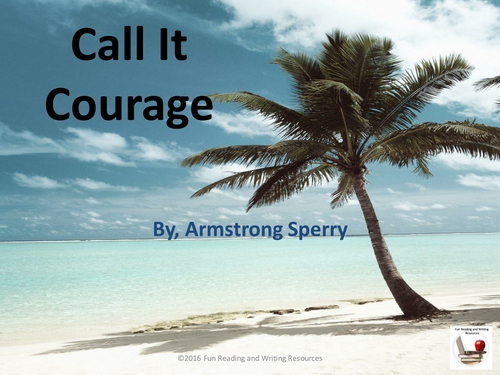 Call it Courage by Armstrong Sperry PowerPoint