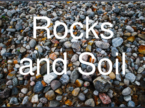 Science corner teaching resources tes for Rocks and soil information