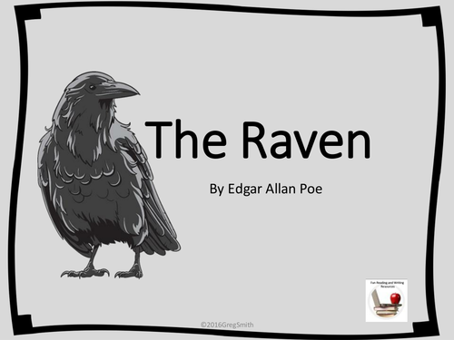 The Raven Powerpoint By Gregsmith137 Teaching Resources Tes