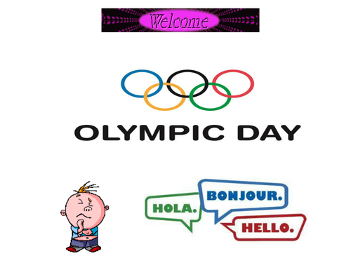 Olympic Day/Parade/Assembly (£2.00 for June only)