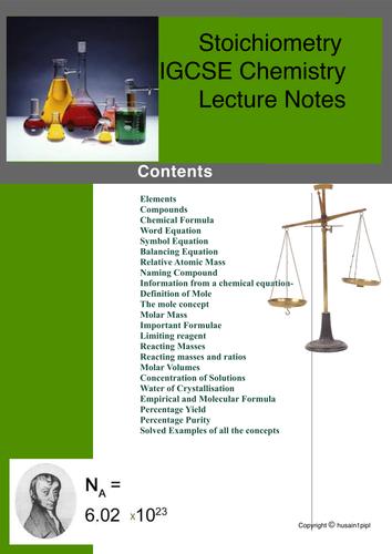 Stoichiometry /Mole calculation/limiting reagent/ IGCSE -GCSE- Edexcel Chemistry Complete Lesson