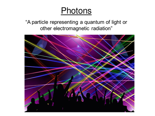 AS-level Physics Lesson -  Photons
