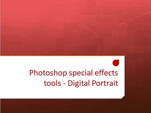 Photoshop Digital Portrait