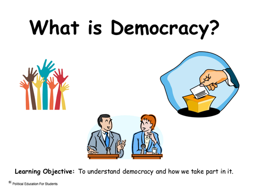 British Values (KS2) - What is democracy? by ...