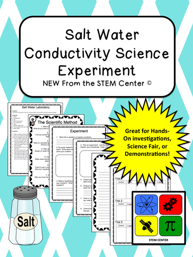 Salt Water Conductor : Chemistry soda explosion lab by us teacher lessons tes