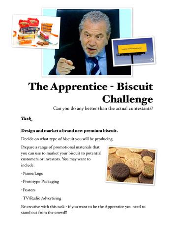 Enterprise Activity - The Apprentice Biscuit Challenge