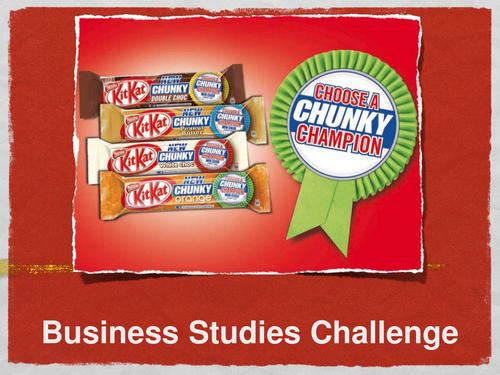 Enterprise Activity - Kit Kat Marketing Challenge