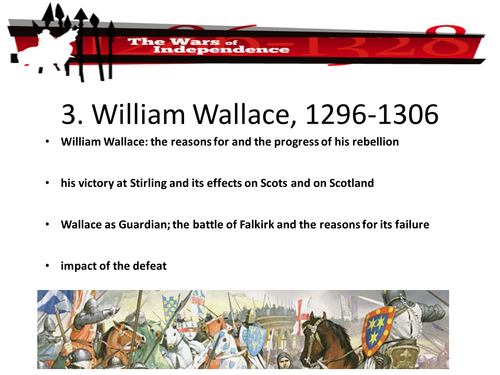 National 4/5 Scottish Wars of Independence, William Wallace, Robert Bruce
