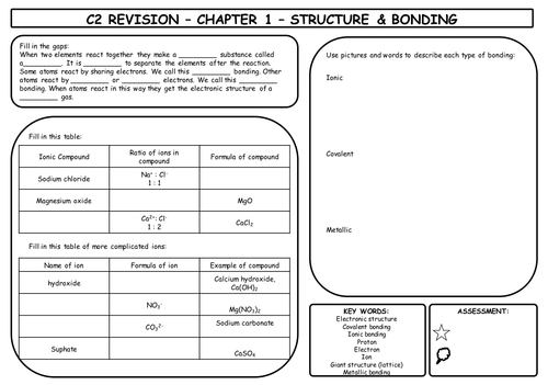 C2 Aqa Gcse Complete Revision Worksheets By Itsmsawesome