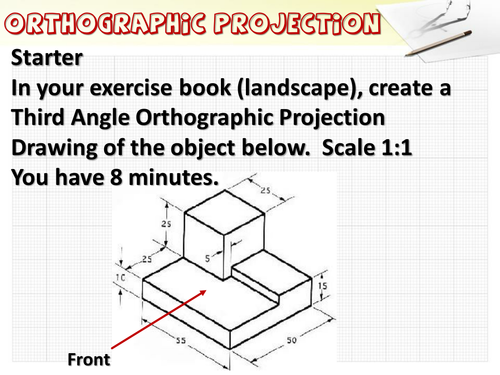 Introduction to 2 point perspective.