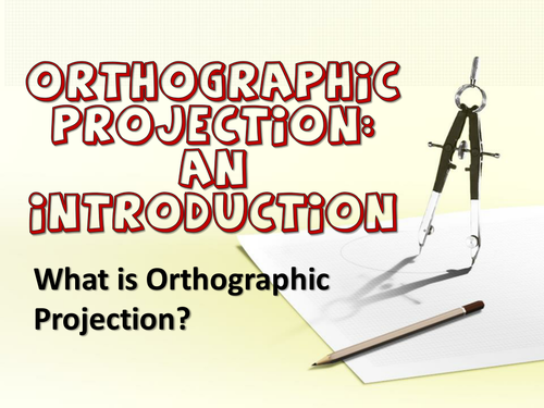 Introduction to Third Angle Orthographic Projection.