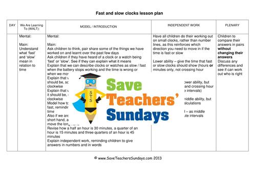 Save Teachers Sundays Teaching Resources Tes