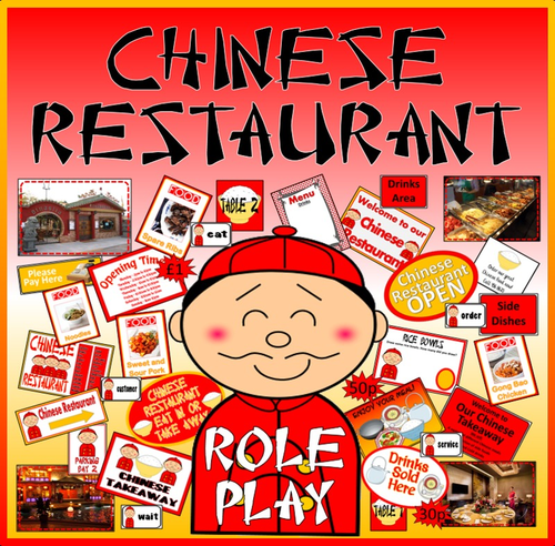 Chinese Restaurent: Chinese Restaurant Role Play, Chinese New Year By May2